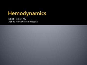 Hemodynamics - Abbott Northwestern Hospital Internal Medicine ...