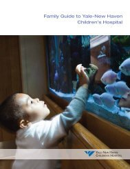 Family Guide to Yale-New Haven Children's Hospital