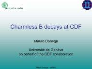 Charmless B decay at Hadron Collider - CDF
