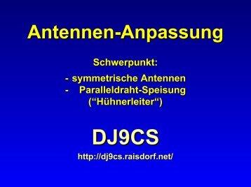 Antennen-Anpassung - Mods-ham.Com