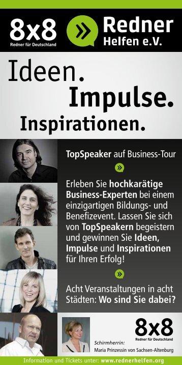 8×8 Redner für Deutschland