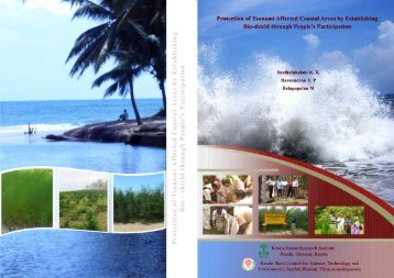 Protection of Tsunami Affected Coastal Areas by - Kerala Forest ...