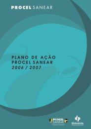 Plano de Ação PROCEL SANEAR 2006 / 2007 - eletrobras.com.br