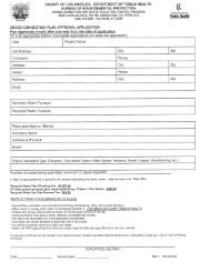 Cross Connection Plan Approval Application - Department of Public ...