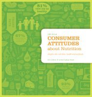 2011 Consumer Attitudes about Nutrition study - SoyConnection.com