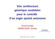 Une architecture générique modulaire pour le contrôle d'un ... - Inra