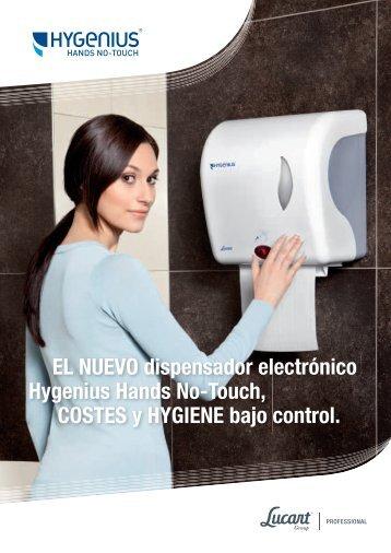 Hygenius Hands No-Touch - Lucart Professional