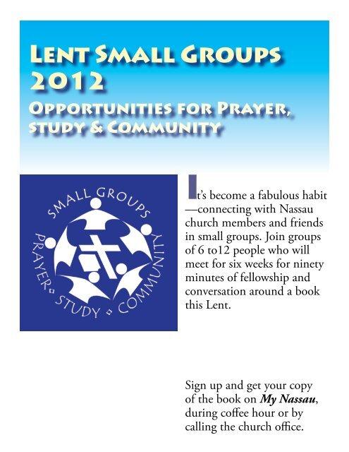 Lent Small Groups 2012 - Nassau Presbyterian Church