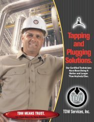 Tapping And Plugging Solutions. - T.D. Williamson, Inc.
