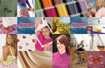 Download brochure - Janome