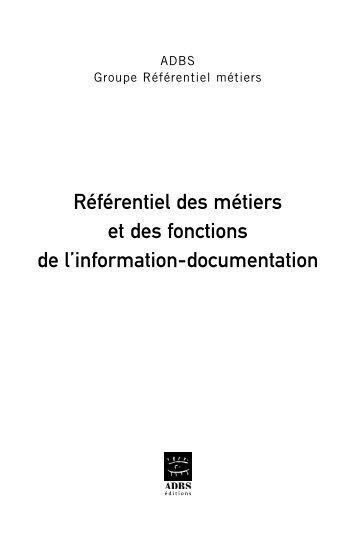 archiviste    documentaliste