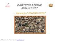 analisi SWOT municipio 2 CENTRO OVEST - Urban Center