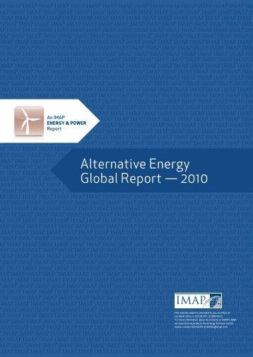 Alternative energy global report 2010.pdf - IMAP