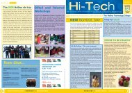 Issue 4 - The Hollins Technology College