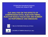 DoE ANALYSIS ON THE EFFECTS OF COMPRESSION RATIO ...