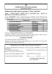 Deliberazione della Giunta Comunale n° 19 del 14-02-2011