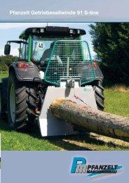 Pfanzelt Getriebeseilwinde 91 S-line - Stroje Slovakia