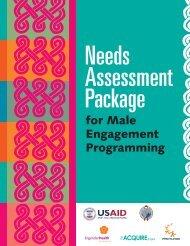 Needs Assessment Package - Promundo