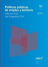 Políticas públicas de empleo y territorio. Informe final - Oit