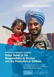 R2P POC Overview Docum... - UNU-ISP - United Nations University