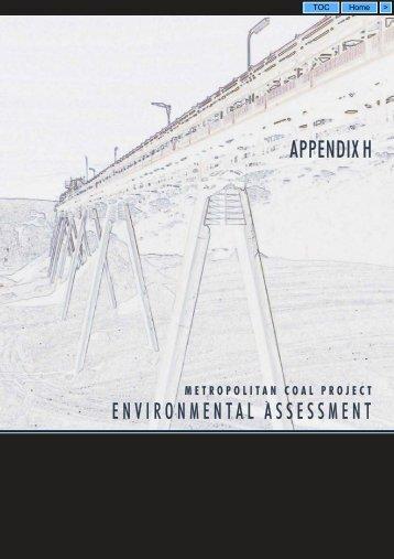 Appendix H - Peabody Energy