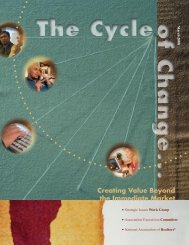 The Cycle of Change - Association Strategic Issues