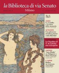 Scarica l'edizione di Luglio / Agosto - Fondazione Biblioteca di via ...