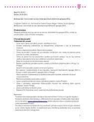 26.10.2011. Međunarodni Javni tender za izbor dobavljača
