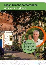 Brochure Eigen Kracht-conferenties: ook voor ouderen - Gemeenten
