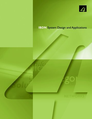 IBDN System Design and Applications - Belden
