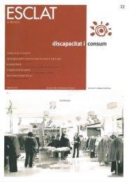 Discapacitat i consum - Associació Esclat