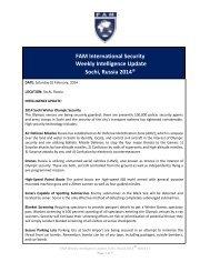 FAM-Weekly-Intelligence-Update-Sochi-Russia-2014-Week-14