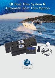 QL Boat Trim System & Automatic Boat Trim Option