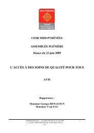 l'accès à des soins de qualité pour tous - Pays Midi-Quercy