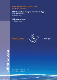 Download Call for Abstracts - WOC®2010 Berlin 5
