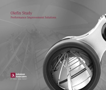 Olefin Study - Solomon Associates