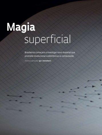 Magia superficial - Revista Pesquisa FAPESP