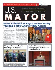 Building a Better America - U.S. Conference of Mayors