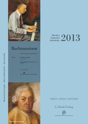 Download Online-Version (PDF, 2,6 MB) - Henle Verlag