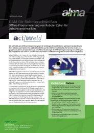 act/weld, Offline-Programmierung von Roboter ... - De.almacam.com