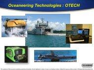 Oceaneering Technologies : OTECH