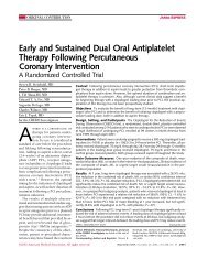 Early and Sustained Dual Oral Antiplatelet Therapy Following ...