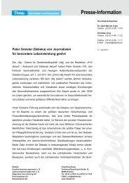 Presse-Information - Debeka