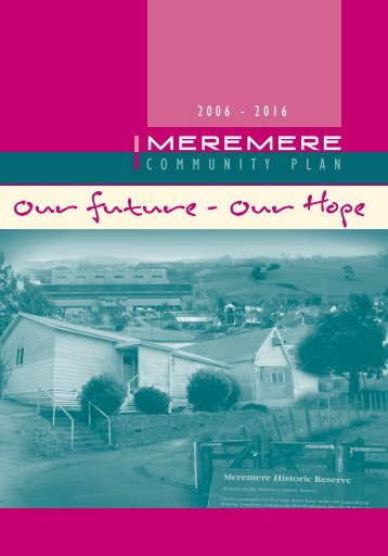 Our future - Our Hope - Waikato District Council