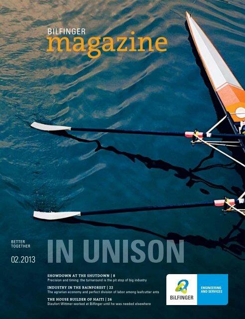 PDF Download Issue 2-2013 - Bilfinger