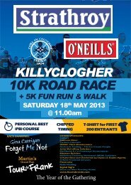 10K & 5K Entry Form 2013 - Killyclogher GAA