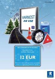 12 EUR - Peugeot