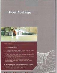 Low Slip Concrete Floor Paint - MLB Enterprise