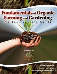Organic Gardening Curriculum - the Georgia Agriculture Curriculum ...