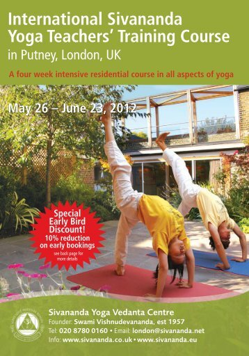 Training Course - Sivananda Yoga